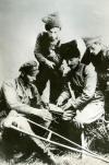 Чапаев с боевыми соратниками после боя. Николаевск. Сентябрь 1918.