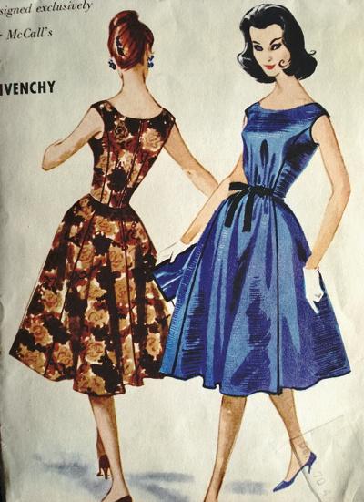 Мода на платья от 20х до 70-х годов прошлого века